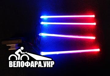 Светодиодная подсветка на велосипед
