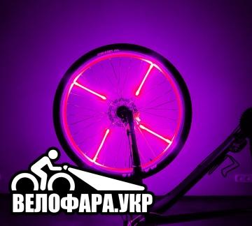 Свет на спицы велосипеда